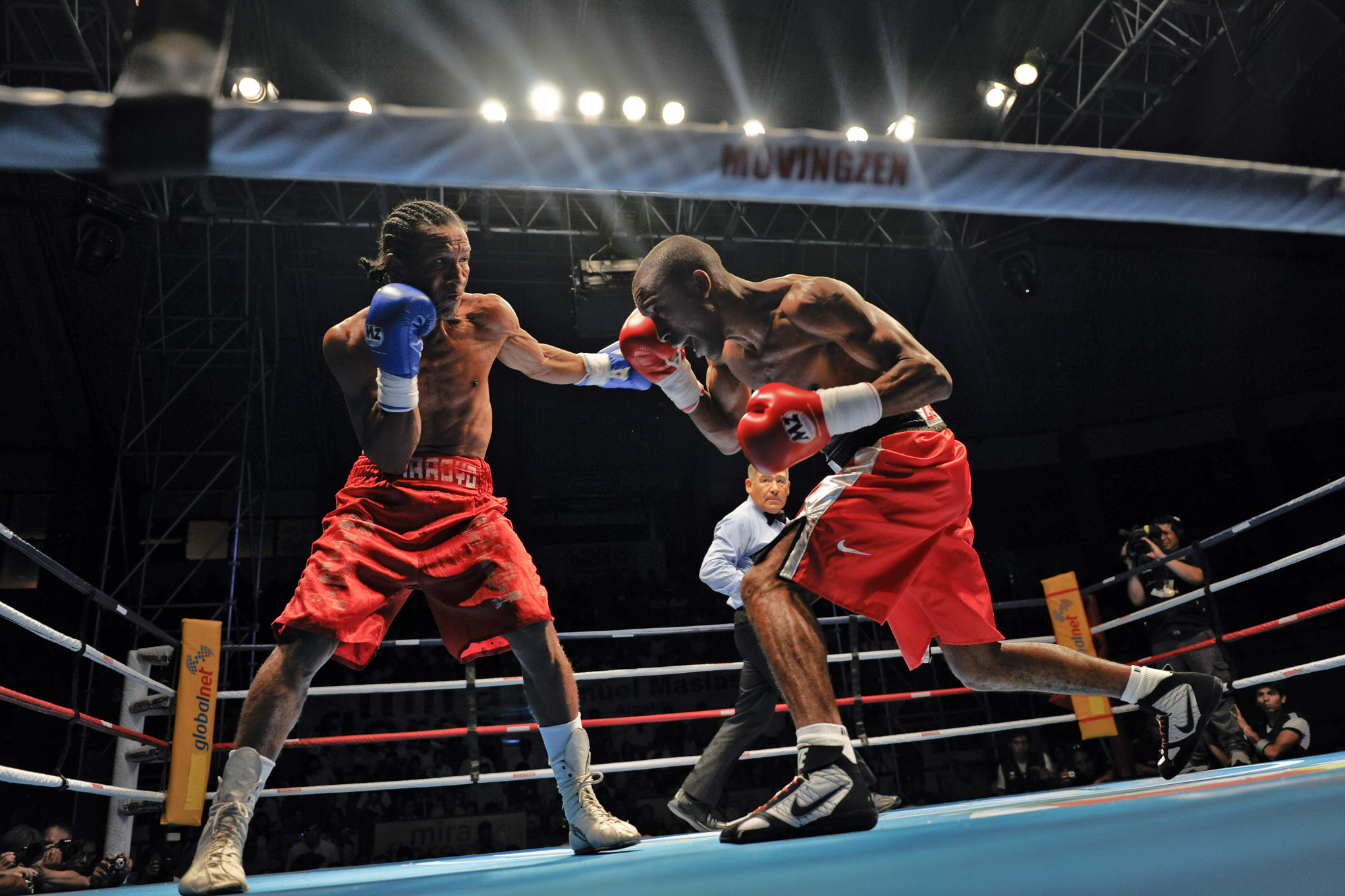 box fight in Lima ring miraflores