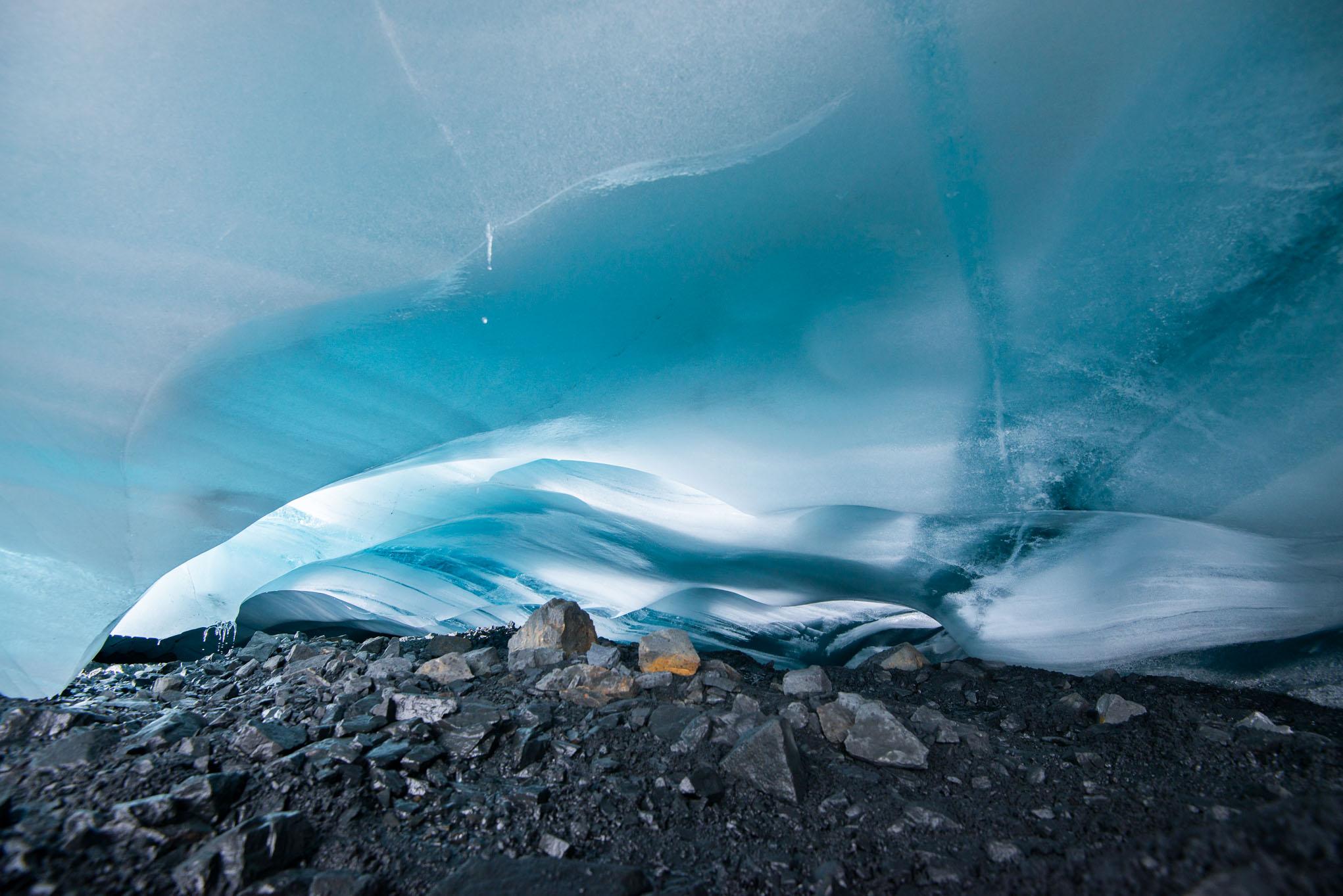 pastoruri ice glacier andean mountain cordillera blanca peru andes