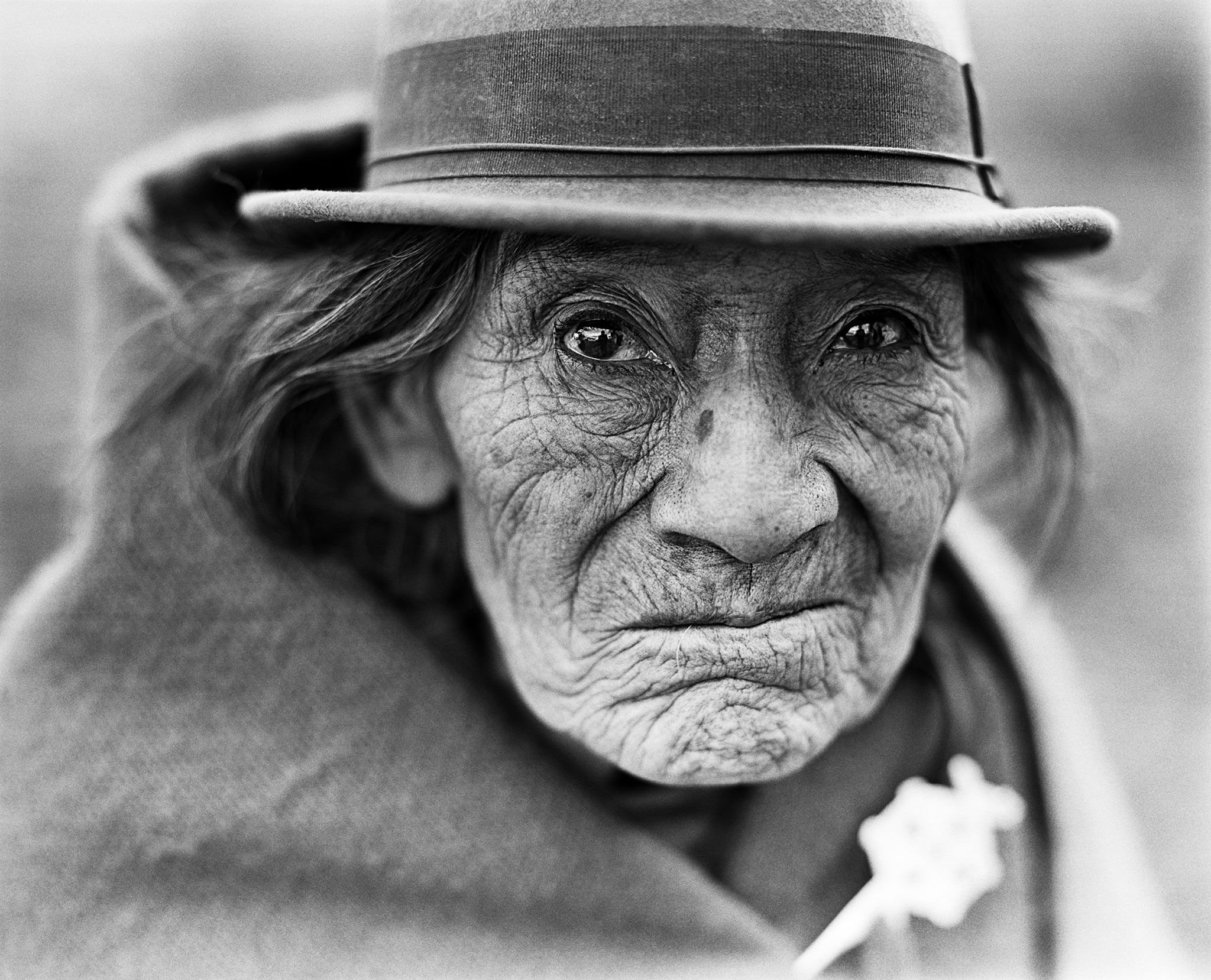 Ecuador inidgenous quechua portrait black and white voices from the andes